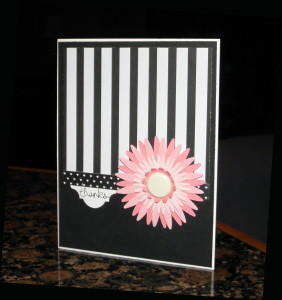 Daisy Thank You Card