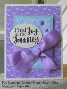 Fun Stampers Journey Card
