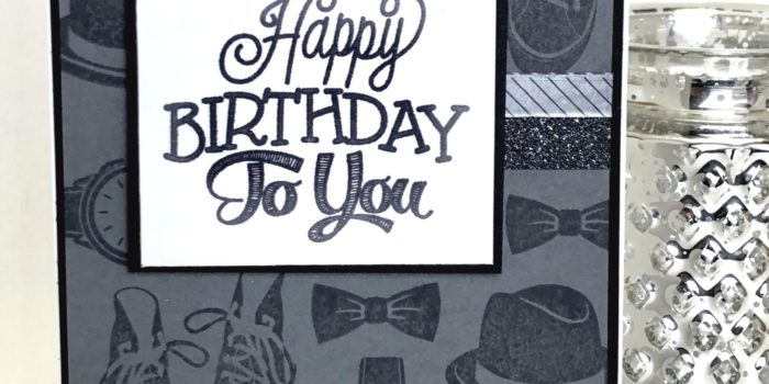 happy birthday masculine card pgcbchallenge149 martyzstamps